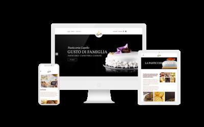 Pasticceria Capello – Web Design