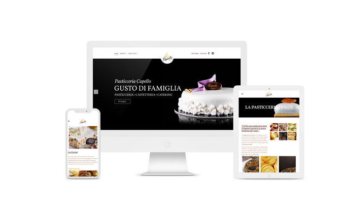 Pasticceria Capello – Web Design
