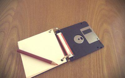 Come riciclare un floppy disk